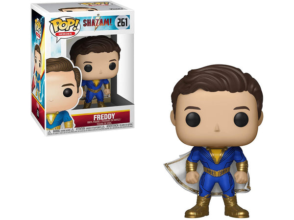 Funko POP! Heroes: Shazam Movie- Freddy Pop - [barcode] - Dragons Trading