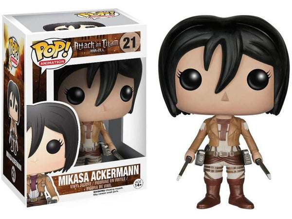 Funko POP! Animation: Attack on Titan - Mikasa Pop - [barcode] - Dragons Trading