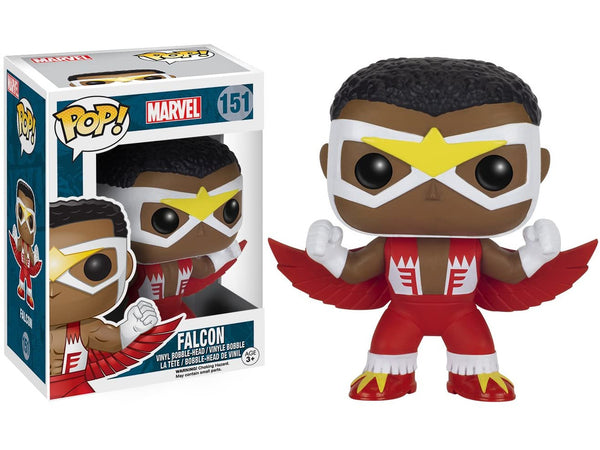 Funko POP! Marvel: Falcon Pop - [barcode] - Dragons Trading