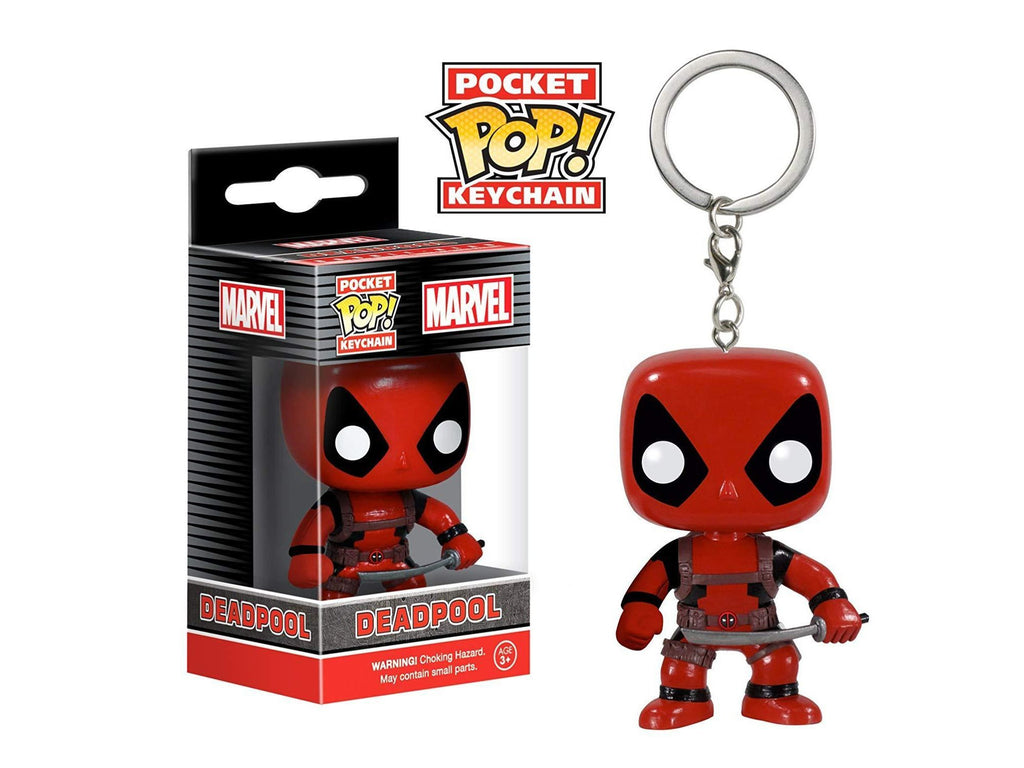 Funko POP Keychain: Marvel - Deadpool Action Figure - [barcode] - Dragons Trading