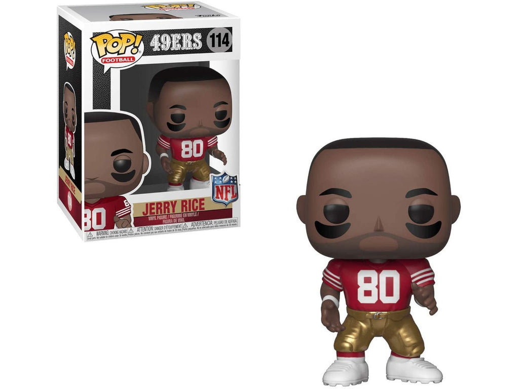NFL: Legends - Jerry Rice - [barcode] - Dragons Trading