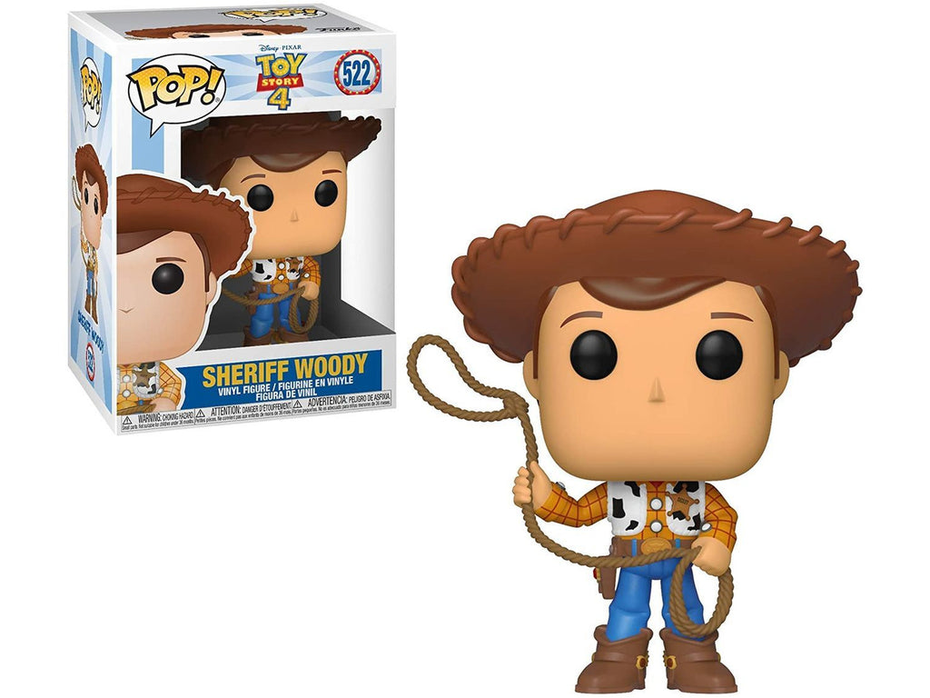 Funko POP! Disney: Toy Story 4- Woody Pop - [barcode] - Dragons Trading