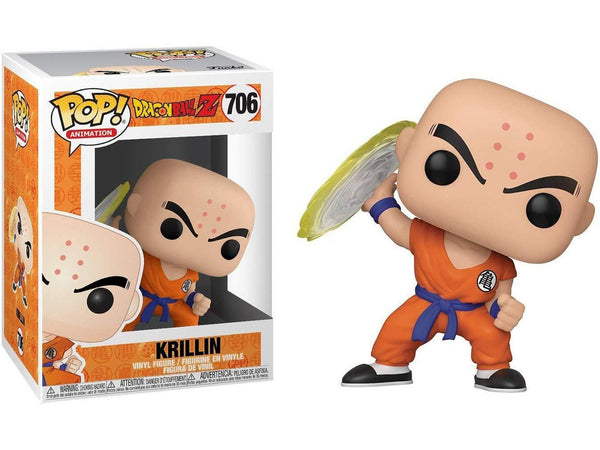 Dragon Ball Z: Krillin with Destructo Disc POP - [barcode] - Dragons Trading