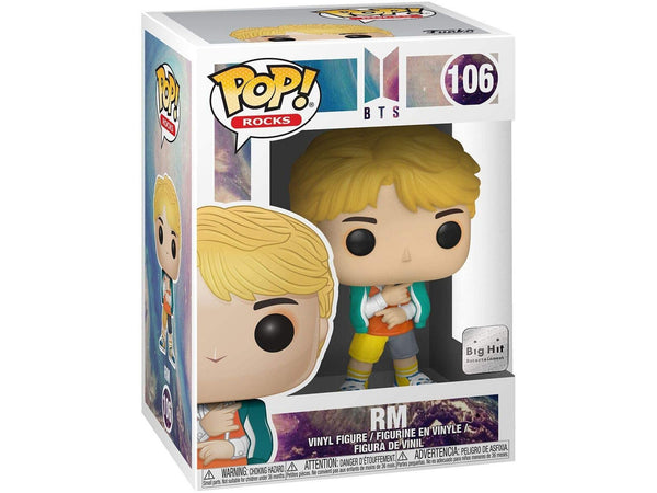 Funko POP! Rocks: BTS - RM Pop - [barcode] - Dragons Trading