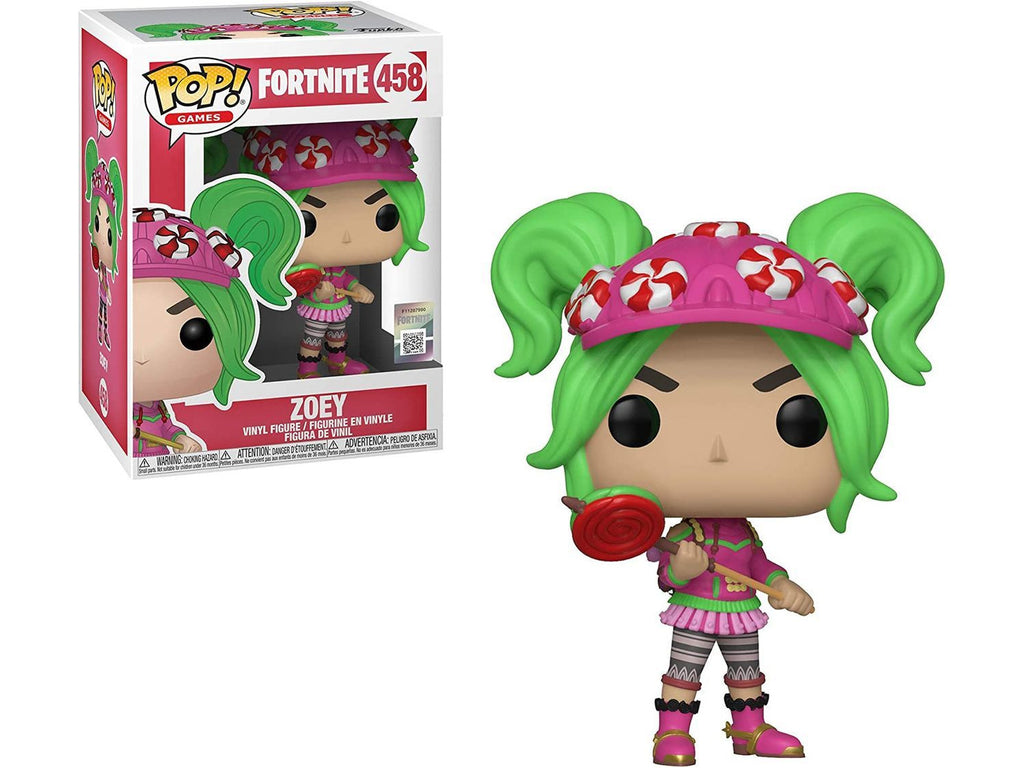 Funko POP! Games: Fortnite- Zoey Pop - [barcode] - Dragons Trading
