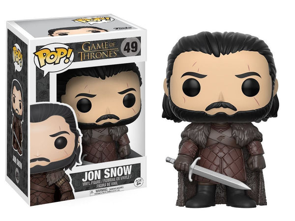 Funko POP Game of Thrones GOT Jon Snow Action Figure - Dragons Trading