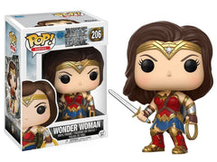 Funko POP! Movies: DC Justice League - Wonder Woman Toy Figure
