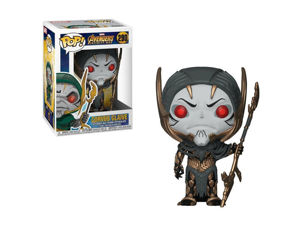 Funko Pop Marvel: Avengers Infinity War-Corvus Glaive Collectible Figure - Dragons Trading