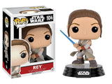 Funko POP Star Wars: Episode 7: The Force Awakens Figure - Rey with Lightsaber - Dragons Trading