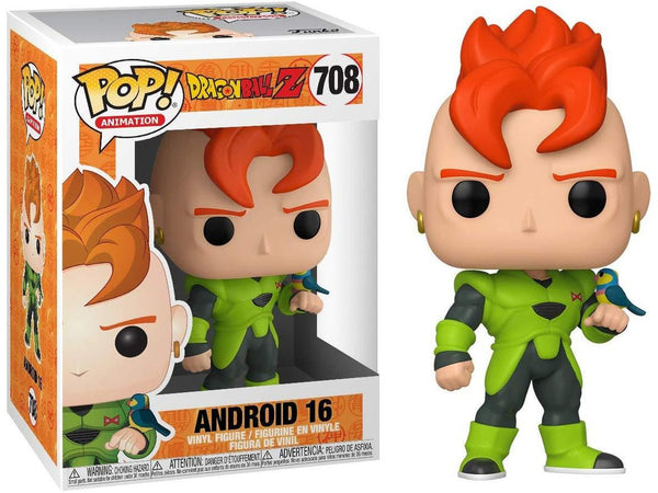 Dragon Ball Z: Android 16 POP Vinyl Figure - [barcode] - Dragons Trading