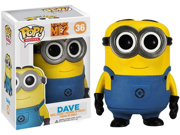 Despicable Me: Dave Pop - [barcode] - Dragons Trading