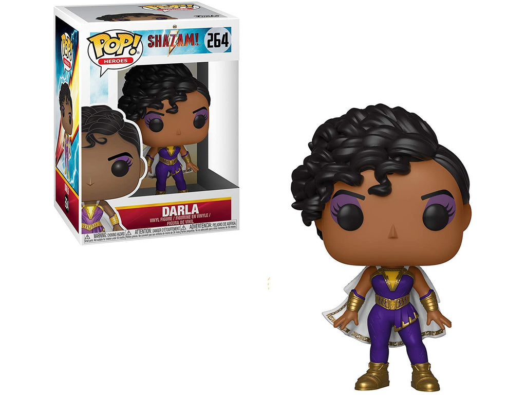Funko POP! Heroes: Shazam Movie- Darla Pop - [barcode] - Dragons Trading