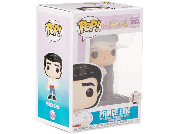Funko POP! Disney: The Little Mermaid - Prince Eric Pop - [barcode] - Dragons Trading