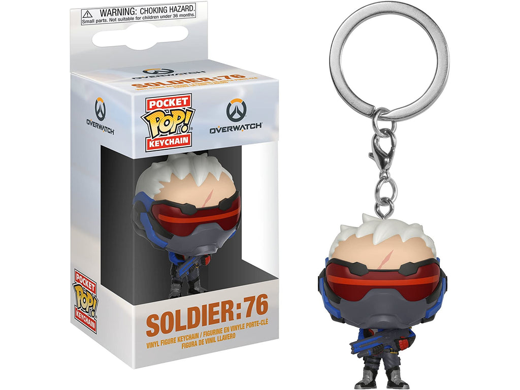 Overwatch - Soldier 76 Pocket Keychain