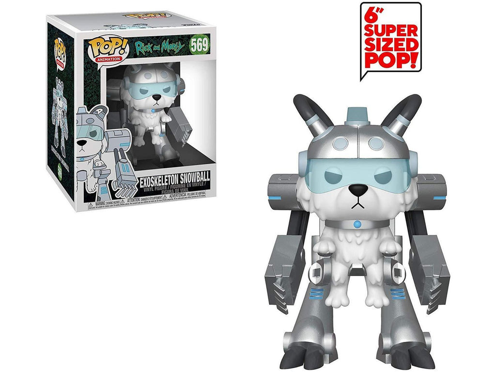 "Rick and Morty - Exoskeleton Snowball 6"" Funko Pop - [barcode] - Dragons Trading"