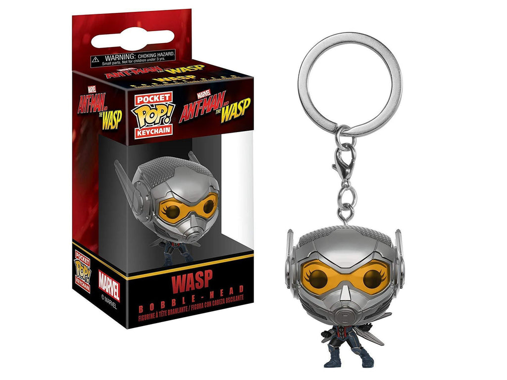 Funko Pop Keychain Marvel: Ant-Man and The Wasp Collectible Figure - [barcode] - Dragons Trading