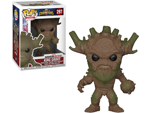 Funko POP! Games- Marvel: Contest of Champions - King Groot Pop - [barcode] - Dragons Trading