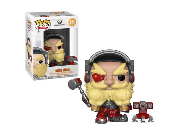 Funko Pop Games: Overwatch - Torbjörn Collectible Figure, Multicolor - Dragons Trading