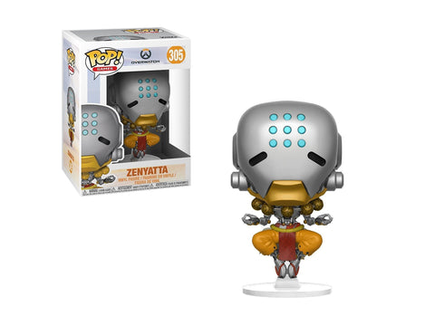 Funko Pop Games: Overwatch-Zenyatta, Multicolor