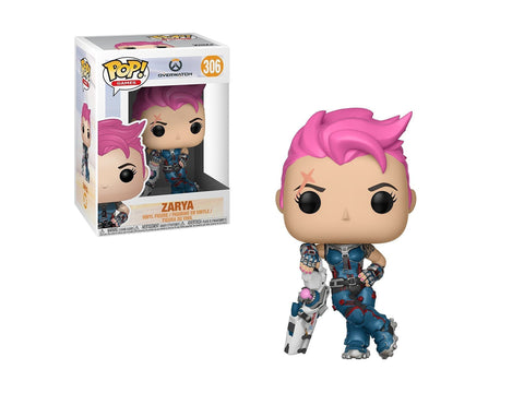 Funko Pop Games: Overwatch-Zarya, Multicolor