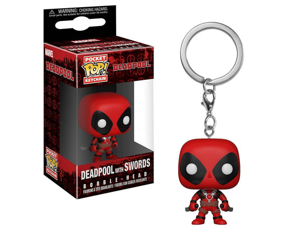 Funko Pop! Keychain: Deadpool Playtime - Deadpool with Sword - [barcode] - Dragons Trading