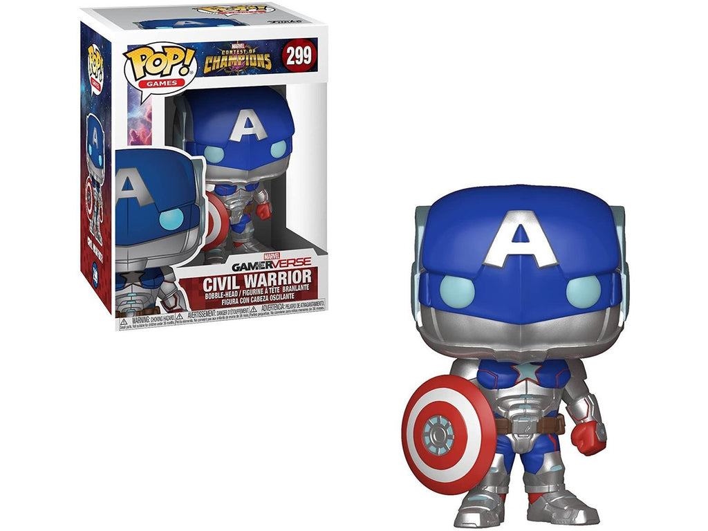 Funko Pop! Games: Marvel - Contest of Champions - Civil Warrior Pop - [barcode] - Dragons Trading