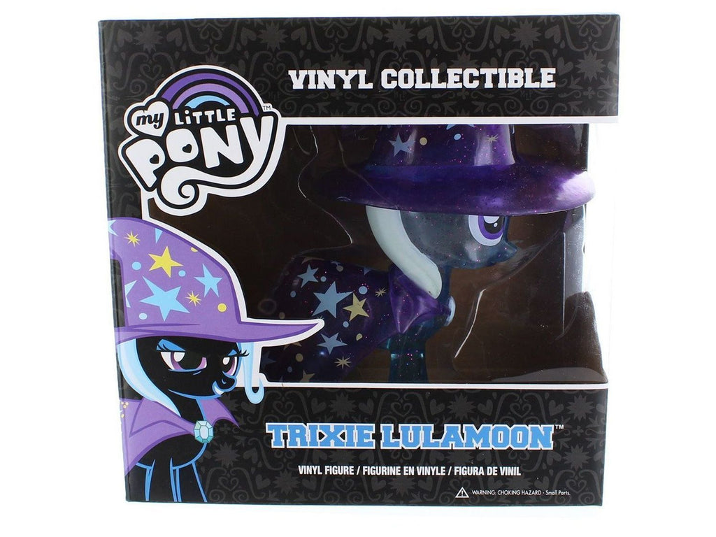 My Little Pony  - Trixie Lulamoon - Clear Glitter (Chase) Vinyl Collectible - [barcode] - Dragons Trading