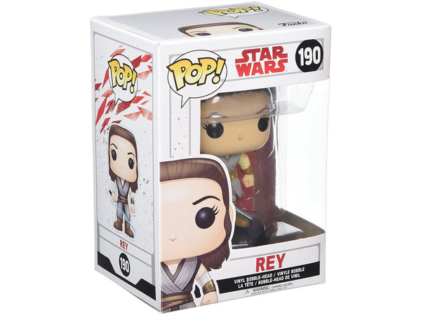Funko POP! Star Wars: The Last Jedi - Rey - Collectible Figure - Dragons Trading