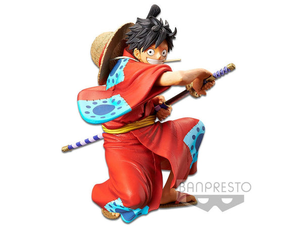 Banpresto One Piece King of Artist Monkey D. Luffy Wanokuni Figure - [barcode] - Dragons Trading