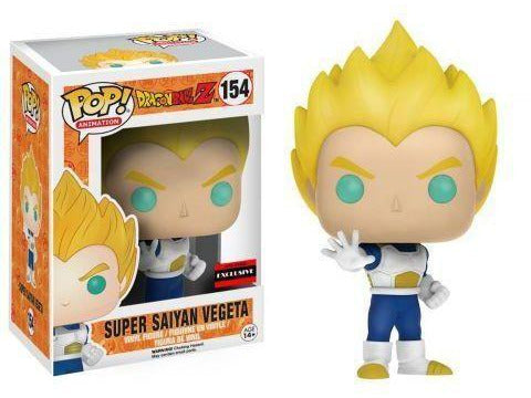 AAA Exclusive Funko Pop Animation: Dragon Ball Z: Super Saiyan Vegeta - Dragons Trading