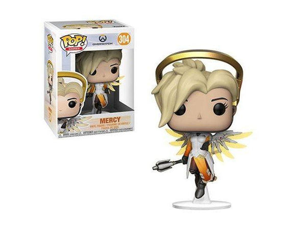 Funko Pop! Overwatch Mercy Action Figure Release:April 2018