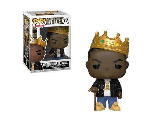 Pop Rocks: Notorious B.I.G Pop Vinyl Figure (Crown) - [barcode] - Dragons Trading