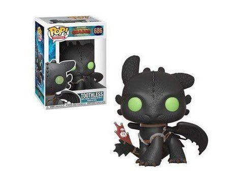 How to Train Your Dragon 3: Toothless Pop Vinyl Figure