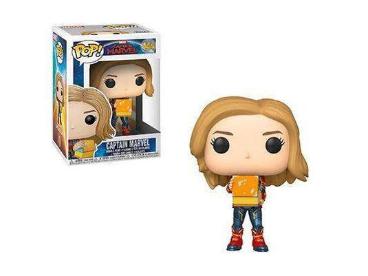 Preorder Captain Marvel: Captain Marvel w/ Lunchbox Pop Vinyl Figure Date: May