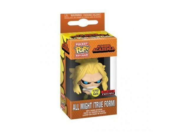 My Hero Academia: All Might Weakened Glow-in-the-Dark Pocket Pop! (AAA Anime Exclusive)