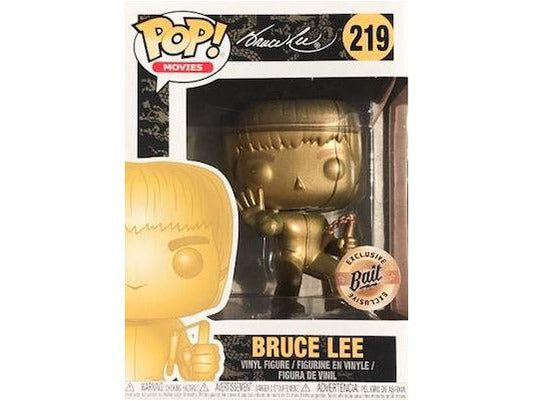 Funko Pop! Movies #219 Gold Bruce Lee (Bait Exclusive) - Dragons Trading