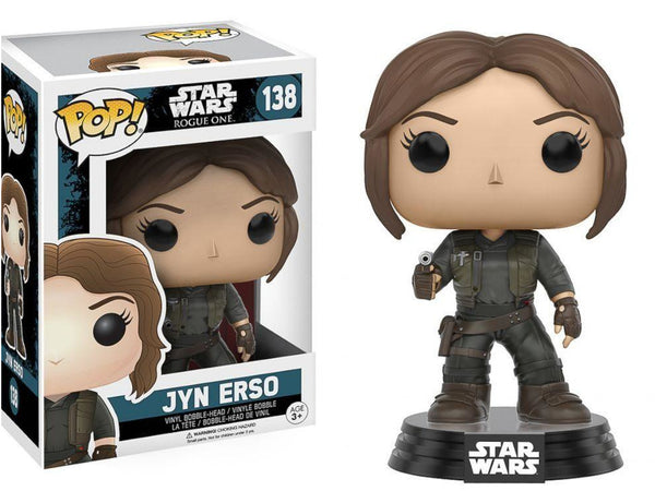 Star Wars: Rogue One Jyn Erso Vinyl Figure - [barcode] - Dragons Trading