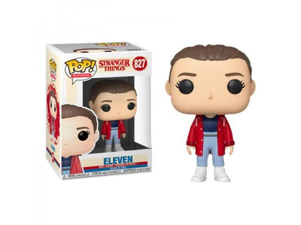Funko POP! Television: Stranger Things - Eleven in Red Jacket - [barcode] - Dragons Trading