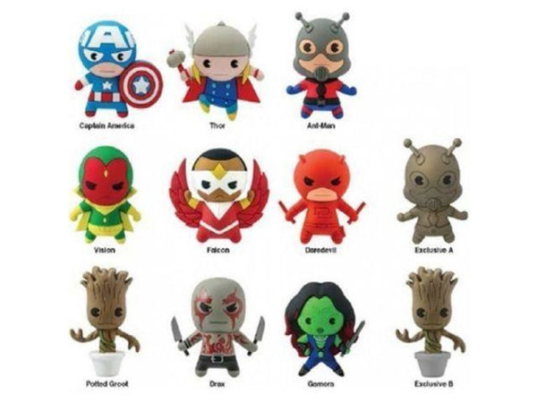 Key Chain: Marvel - Series 2 Die Cut (Blind Boxes) - [barcode] - Dragons Trading