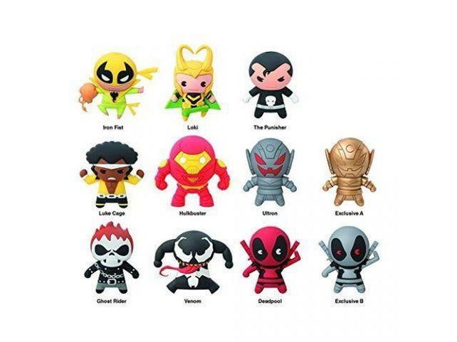 Key Chain: Marvel - Series 3 Die Cut (Blind Boxes) - [barcode] - Dragons Trading