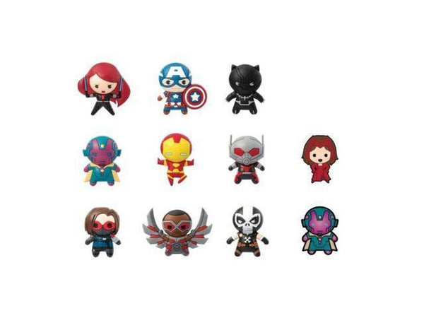 Key Chain: Marvel - Series 6 Die Cut (Blind Boxes) - [barcode] - Dragons Trading