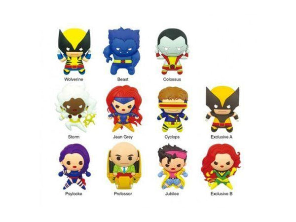 Key Chain: X-Men - 3D Series 1 Die Cut (Blind Boxes) - [barcode] - Dragons Trading