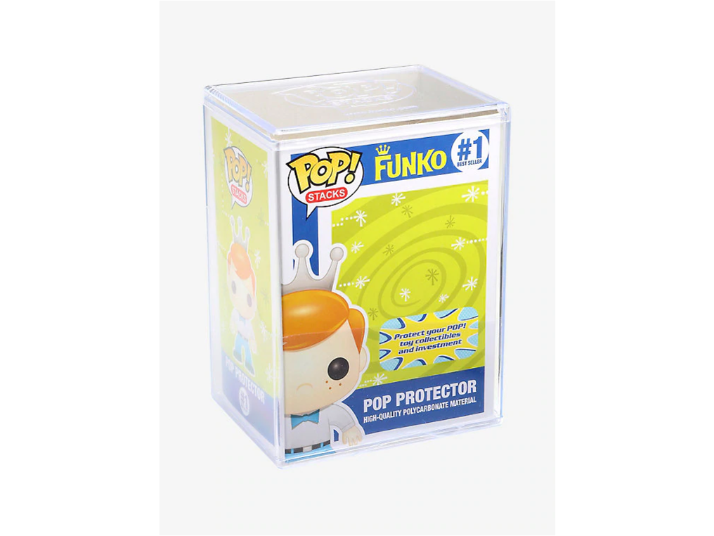 Funko Pop! Stacks Plastic Protector - [barcode] - Dragons Trading