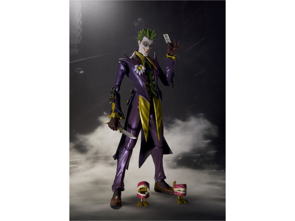 Bandai Tamashii Nations S.H.Figuarts Joker INJUSTICE Ver. Action Figure - [barcode] - Dragons Trading