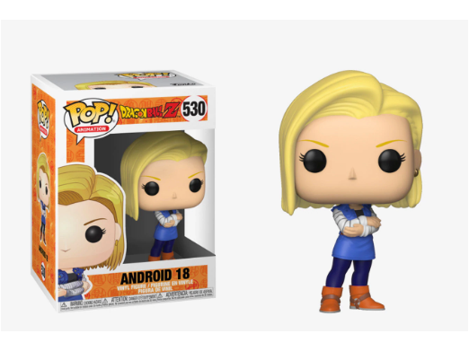 Dragon Ball Z: Android 18 Pop Vinyl FIgure - Dragons Trading