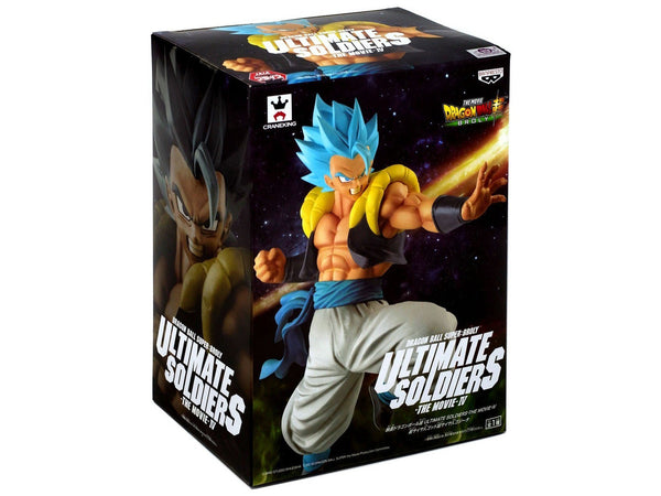 Dragon Ball Super Ultimate Soldiers: The Movie Super Saiyan Blue Gogeta 8.2-Inch Collectible PVC Figure - [barcode] - Dragons Trading