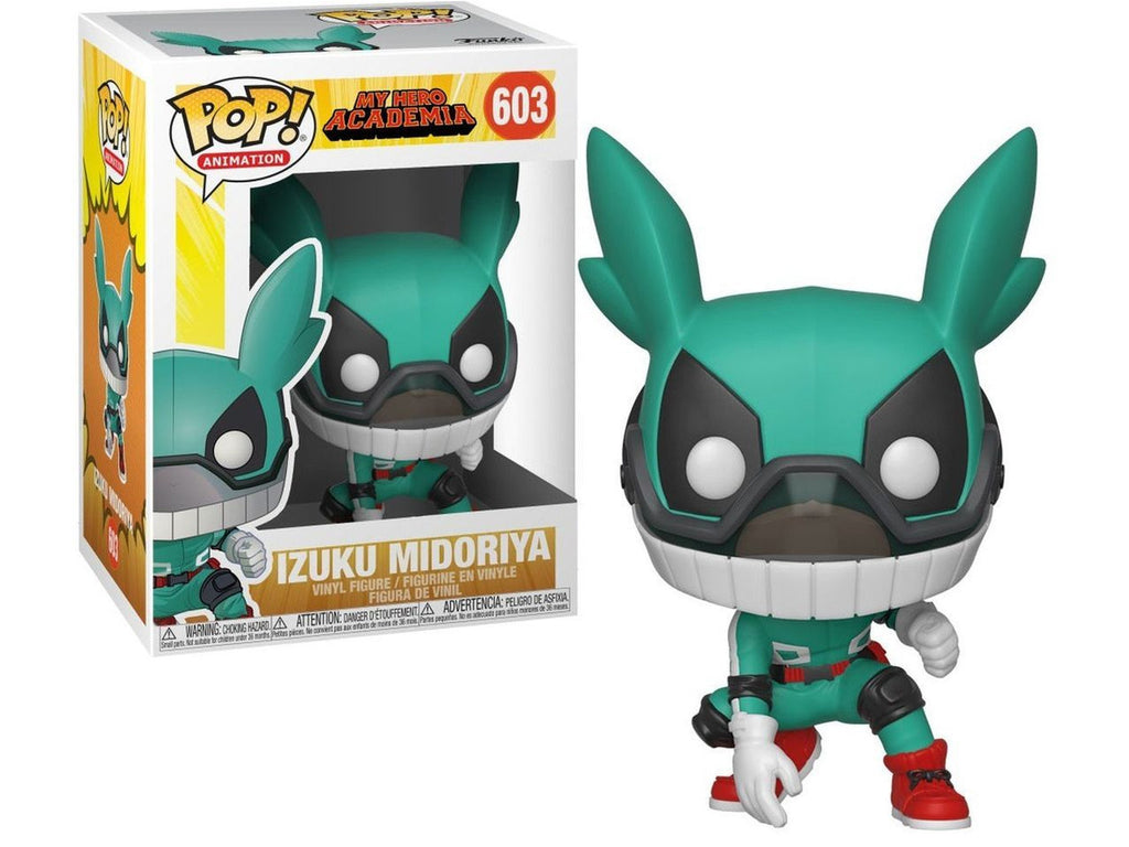 My Hero Academia - Deku with Helmet - [barcode] - Dragons Trading