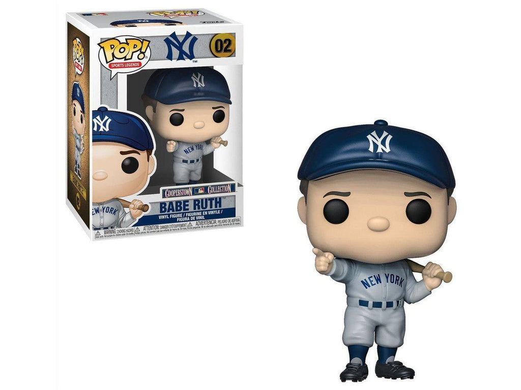 Funko POP! Sports: Babe Ruth Pop - [barcode] - Dragons Trading