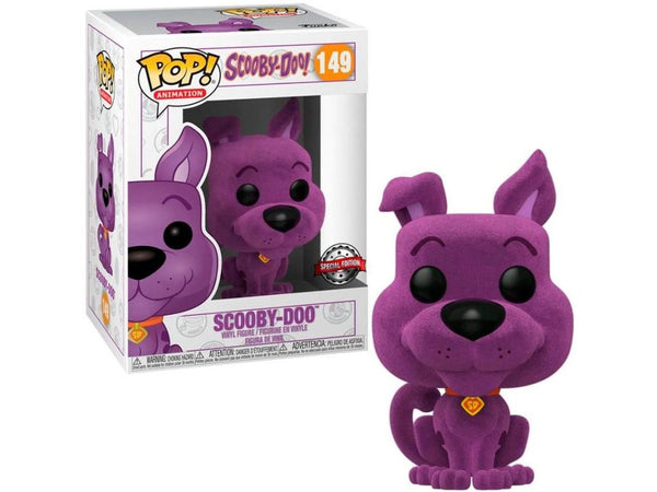 [Preorder] Scooby-Doo - Scooby (Purple Flocked) Pop Figure (Special Edition) - [barcode] - Dragons Trading