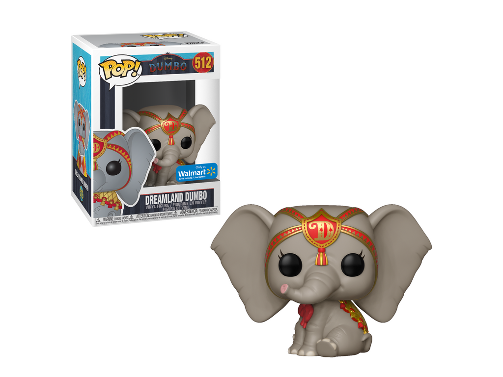 Funko POP! Disney: Dumbo - Dreamland Dumbo (Red) (Walmart Exclusive) - [barcode] - Dragons Trading